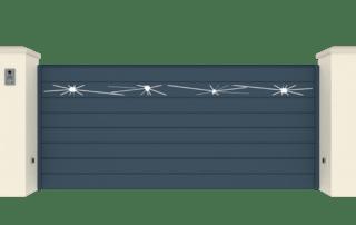Portail Coulissant Gamme Horizon Modèle Collection Break
