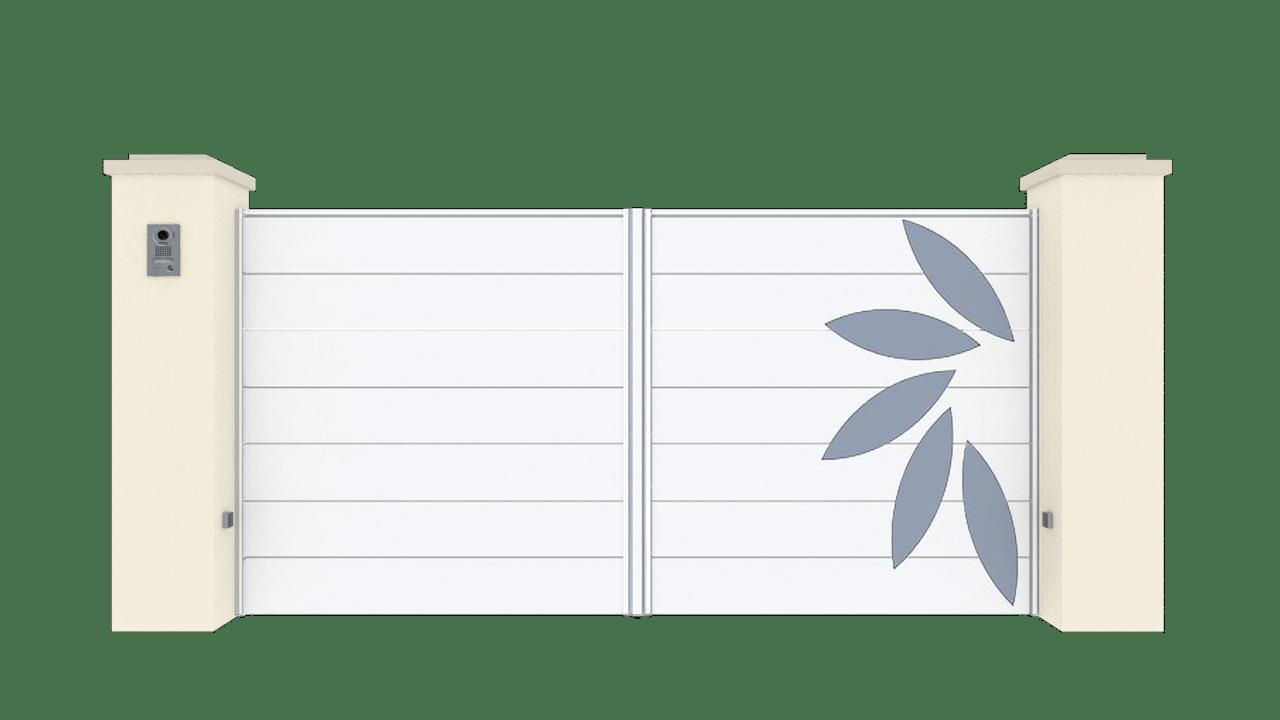 Portail Battant Gamme Horizon Modèle Sensation Style 4