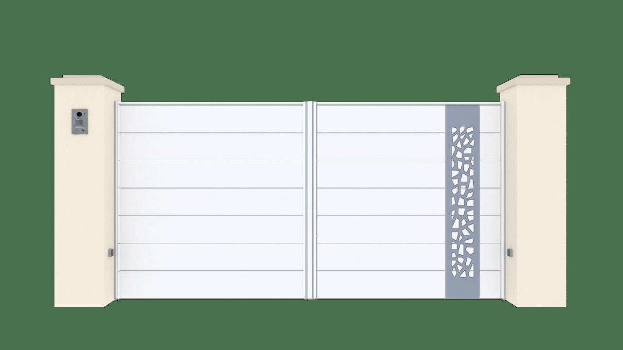 Portail Battant Gamme Horizon Modèle Sensation Style 5