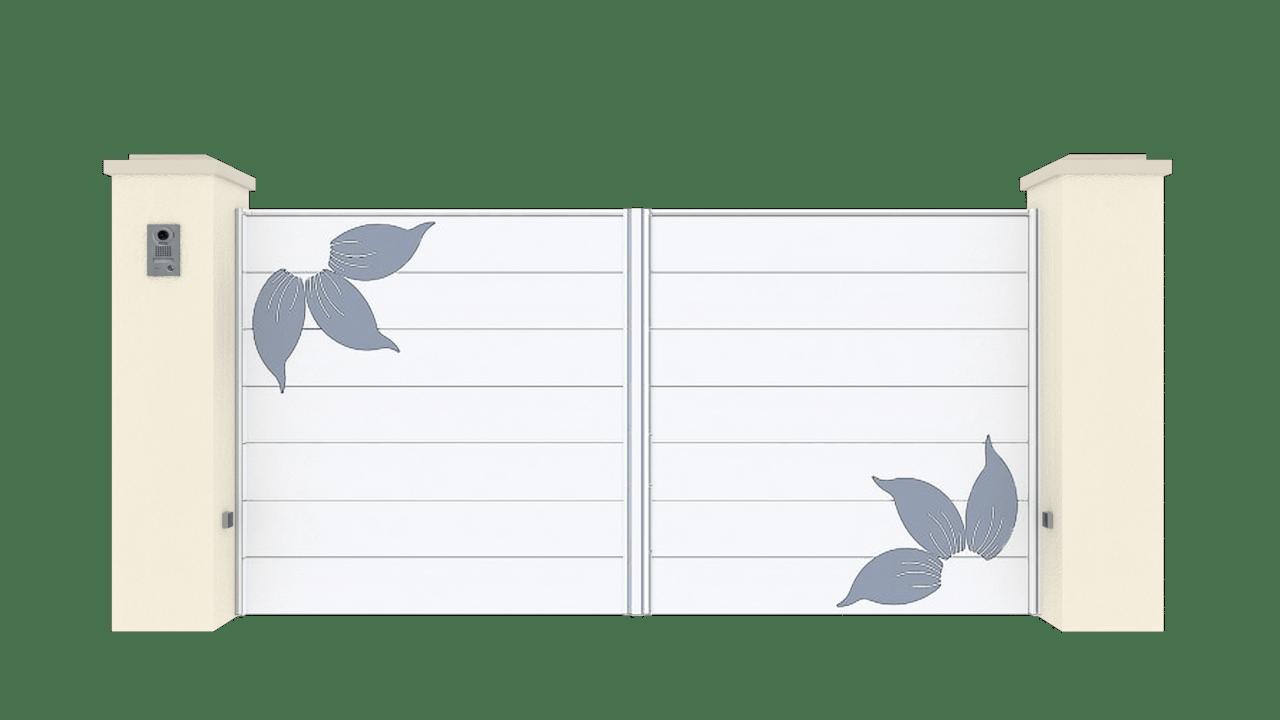 Portail Battant Gamme Horizon Modèle Sensation Style 6