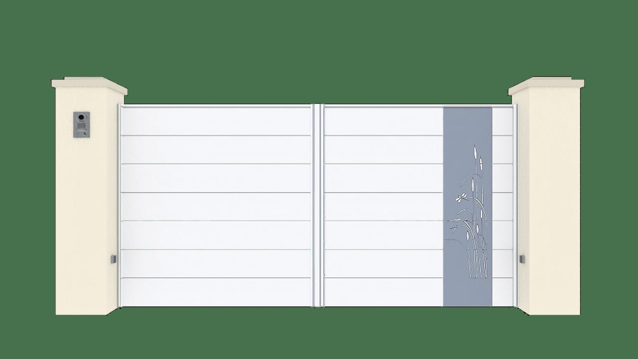 Portail Battant Gamme Horizon Modèle Sensation Style 7