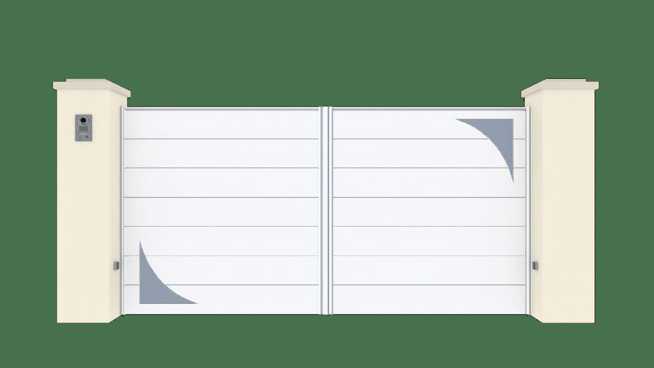 Portail Battant Gamme Horizon Modèle Sensation Style 8