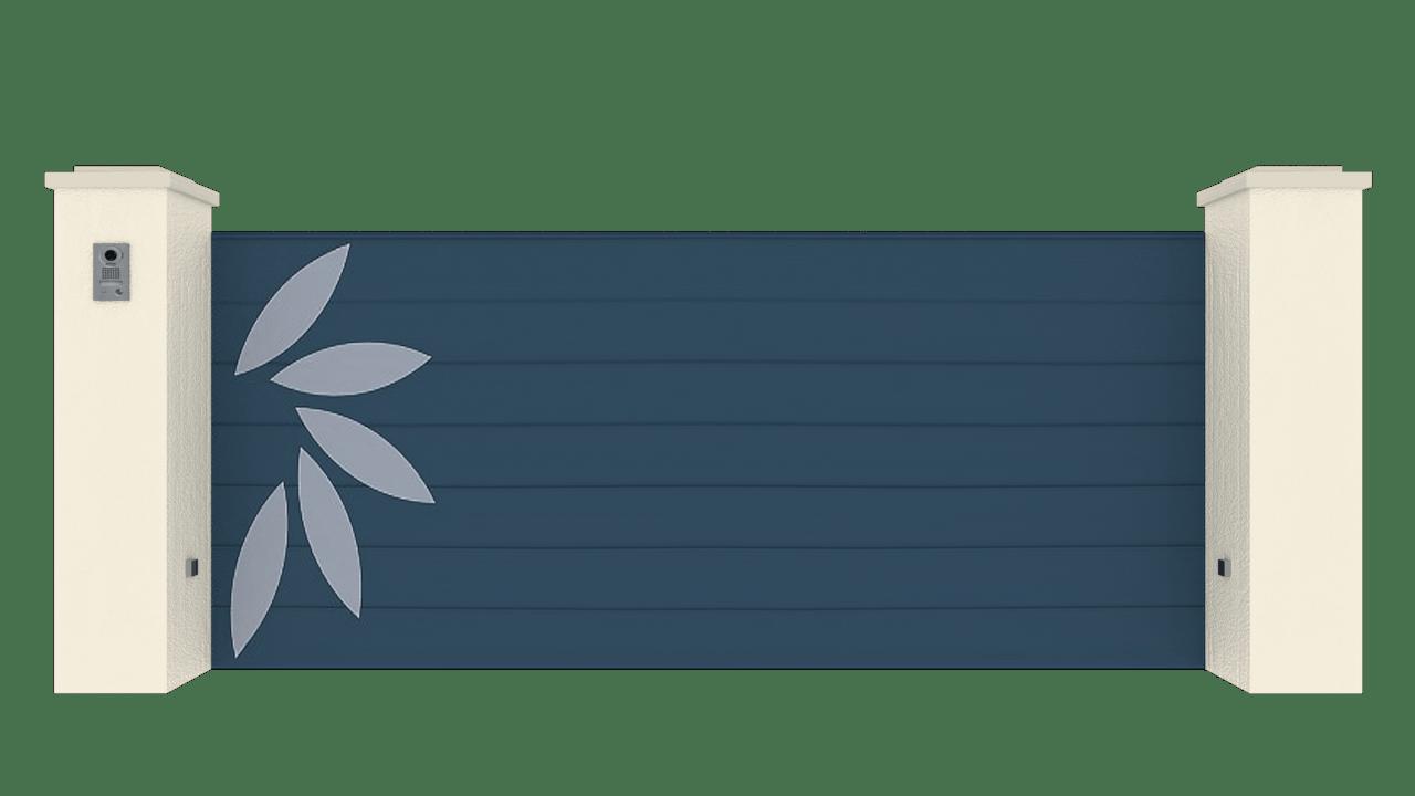 Portail Coulissant Gamme Horizon Modèle Sensation Style 4