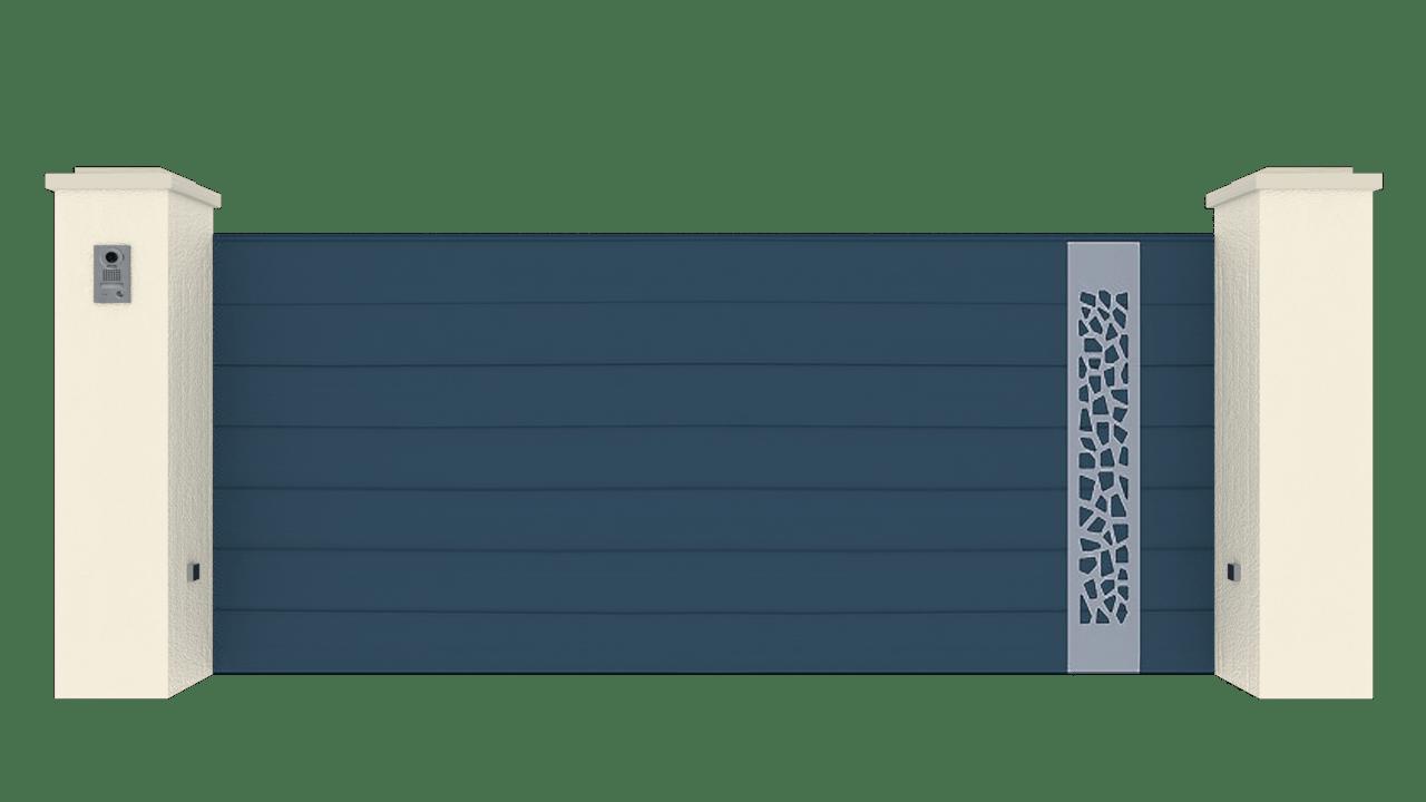 Portail Coulissant Gamme Horizon Modèle Sensation Style 5