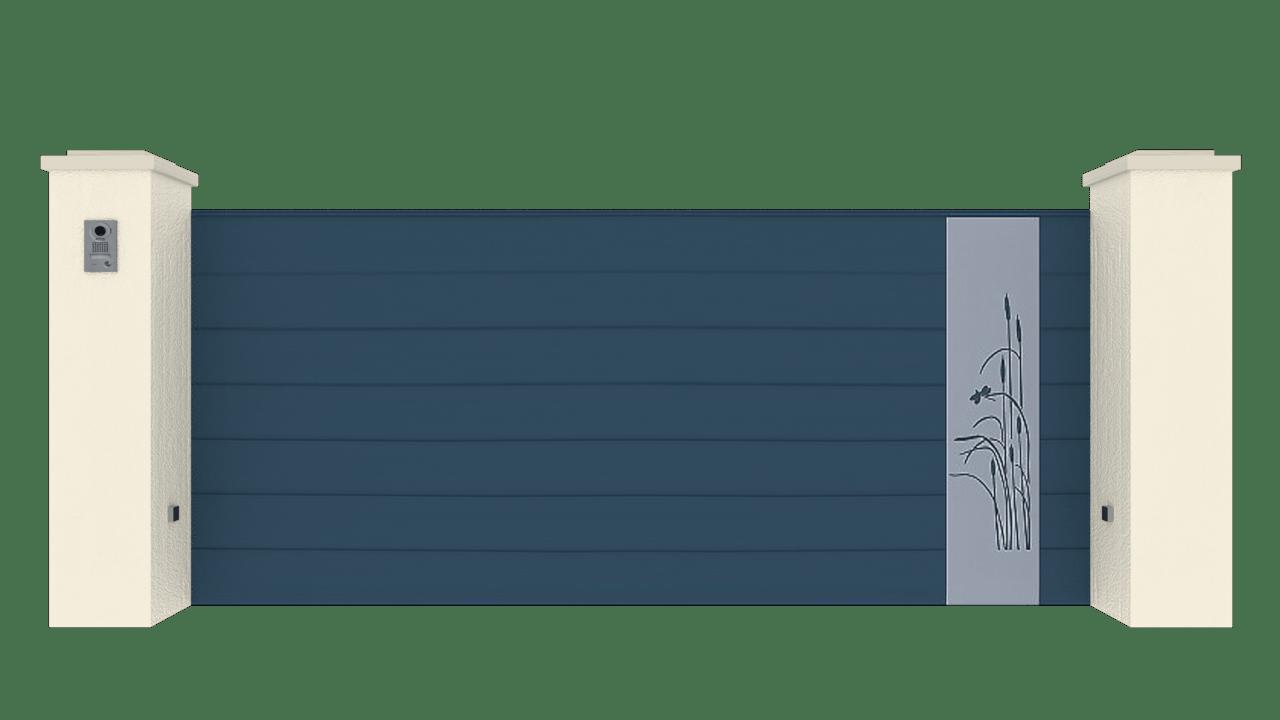 Portail Coulissant Gamme Horizon Modèle Sensation Style 7