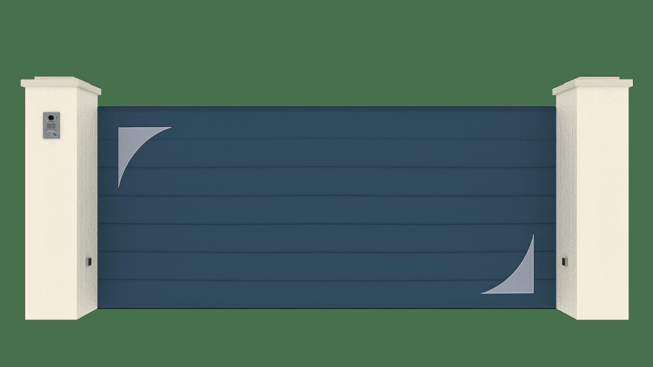 Portail Coulissant Gamme Horizon Modèle Sensation Style 8
