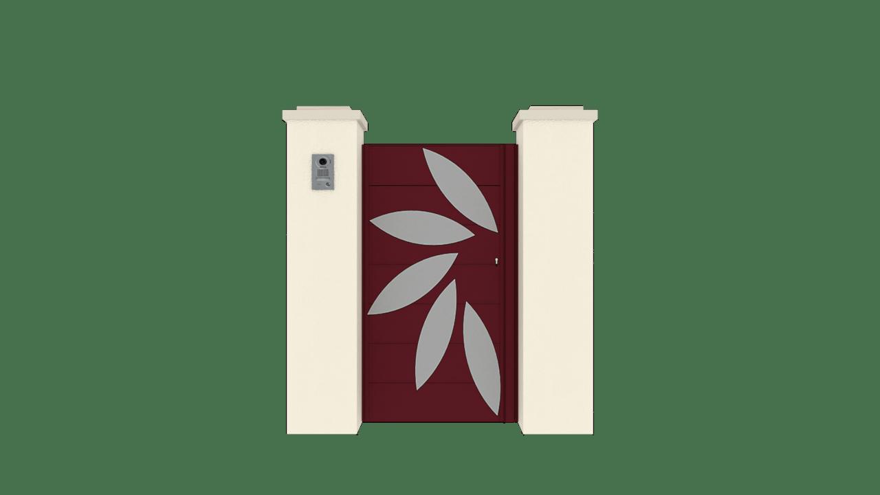 Portillon Gamme Horizon Modèle Sensation Style 4