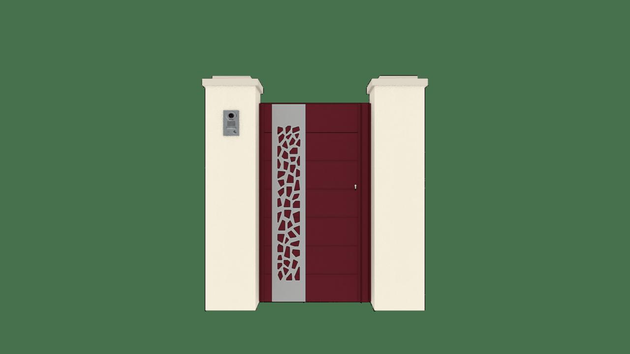 Portillon Gamme Horizon Modèle Sensation Style 5