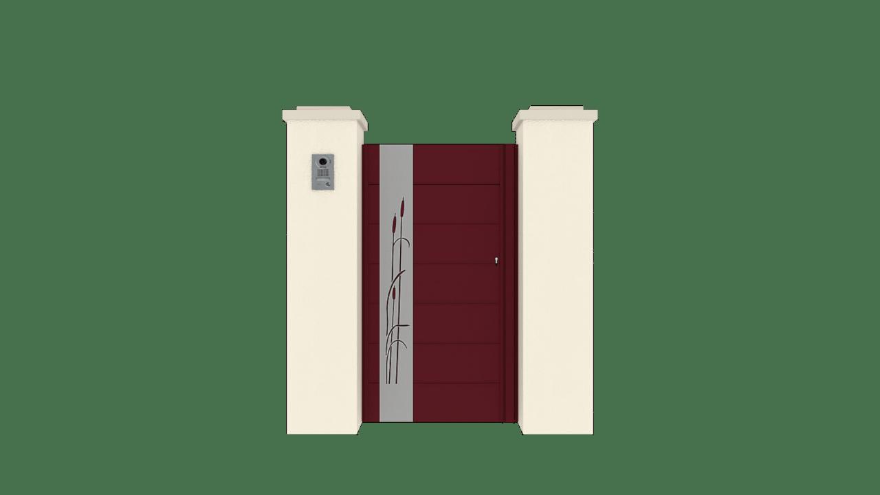 Portillon Gamme Horizon Modèle Sensation Style 7