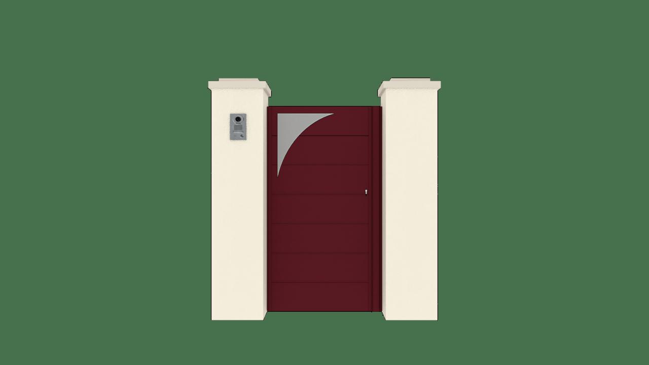 Portillon Gamme Horizon Modèle Sensation Style 8
