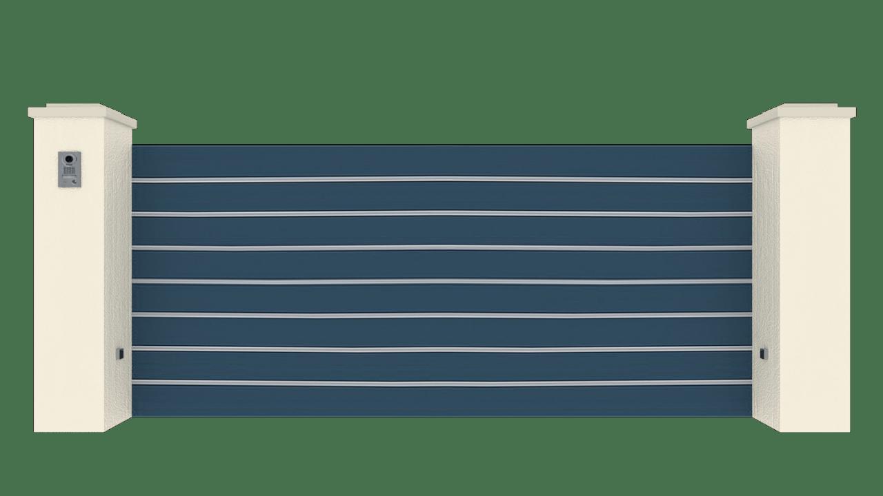 Portail Coulissant Gamme Horizon Modèle Sensation Street 3