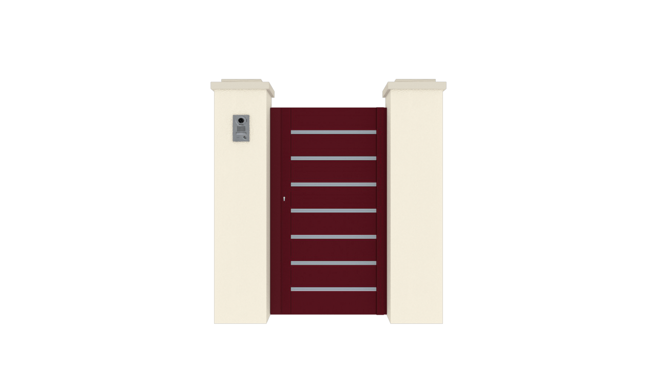 Portillon Gamme Horizon Modèle Sensation Street 3